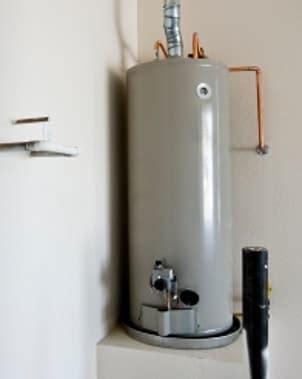 water gas light modern house interior