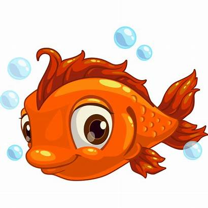 Fish Adorable Funny Faces Symbols Cartoon Emoticons