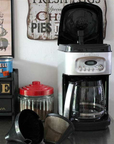 There are lots of good reasons to clean your cuisinart coffee maker. Cleaning Your Coffee Makers · Cozy Little House