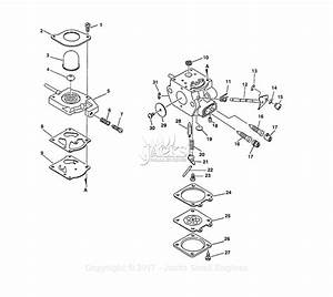 Echo Srm-2400sb Type 1e Parts Diagram For Carburetor S  N  001001