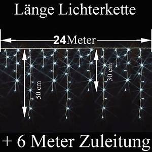 Led Lichterkette Eisregen : snowmotion led lichterkette eisregen eiszapfen 8 16 24m shop ~ Watch28wear.com Haus und Dekorationen