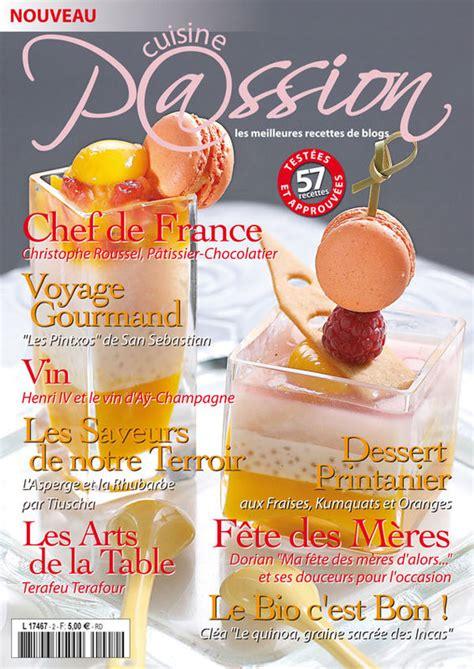 mag cuisine magazine cuisine édition n 2
