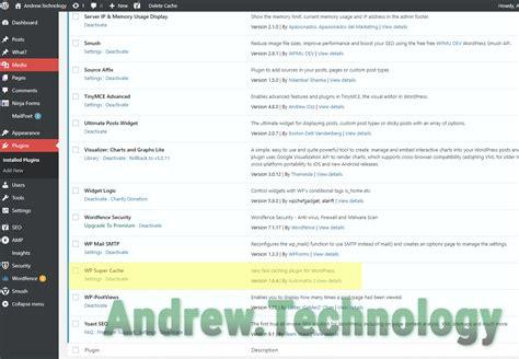 Wordpress Fix Plugin Cache Directory Issues, Wp Super Cache