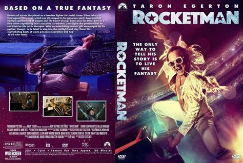 rocketman  dvd custom cover cover cool posters
