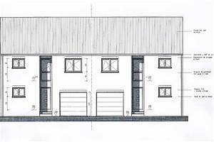 plan maison 2 facades With facade de maison design