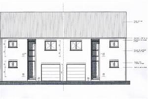 plan de maison 3 facades With plan de maison facade