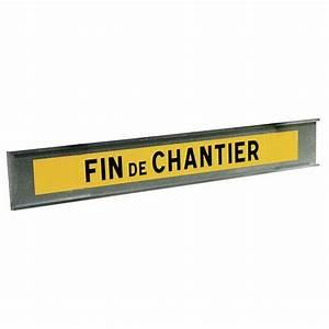 Fin De Chantier : panneau de signalisation de fin de chantier type k2 ~ Mglfilm.com Idées de Décoration