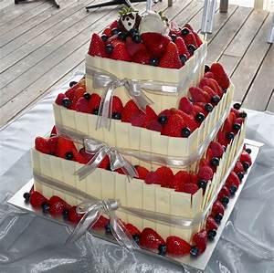 chocolate and strawberry wedding cakes   Elisabeth's ...