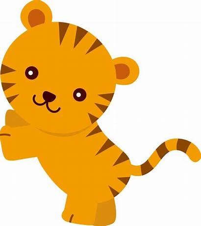 Jungle Animals Clipart Animal Cartoon Shower Transparent