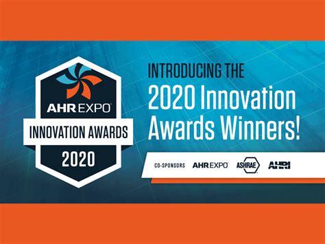 ahr expo announces  innovation award winners
