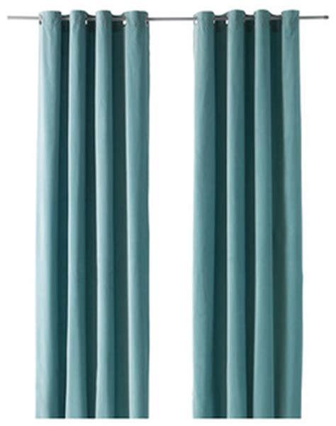 Sanela Curtains Light Turquoise by Sanela Curtains Light Turquoise Modern Curtains By Ikea