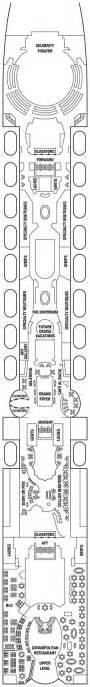 summit deck plan pdf summit cruise ships cruises