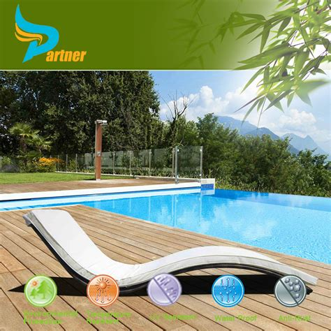 rattan chaise lounge swimming pool sun lounger