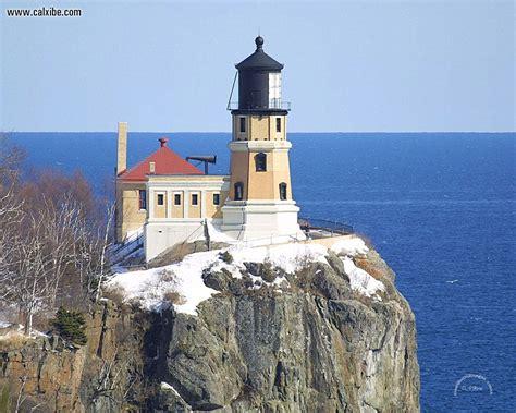 places split rock lighthouse minnesota picture nr