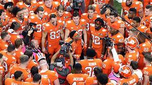 Clemson Football  2020 Schedule Released By League