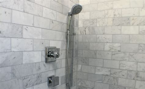 light tile with dark grout choosing grout color devine bath in portland seattle