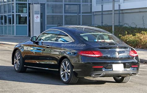 Mercedes C Class Coupe 2019 by 2019 Mercedes C Class Coupe Facelift Shows All New