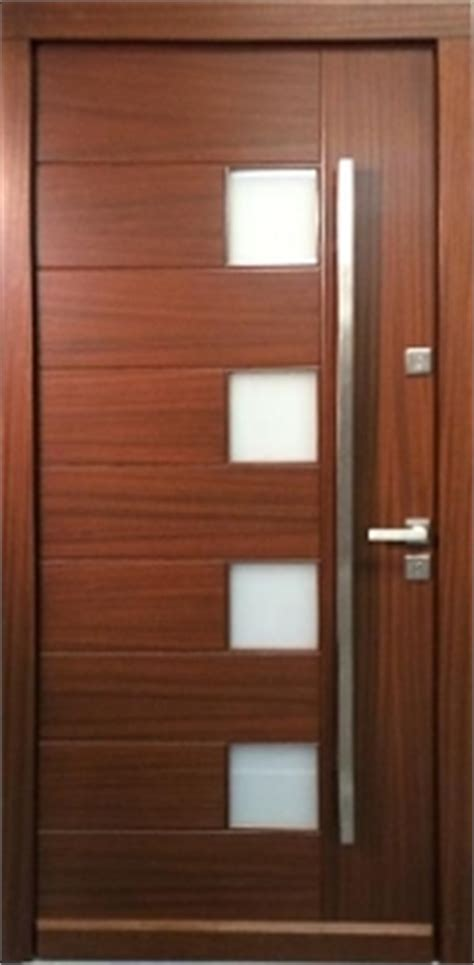 model  modern walnut wood exterior door wfrosted glass modern home luxury
