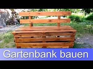 Paletten Bank Bauen : diy eine bank aus europaletten bauen doovi ~ Buech-reservation.com Haus und Dekorationen