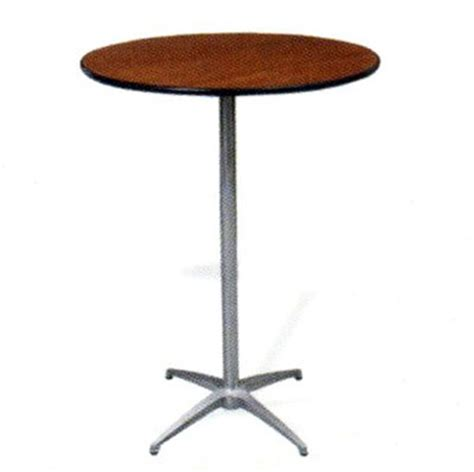 round high top table cocktail table pedestal 30 quot round high top pub bistro
