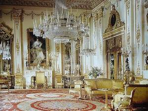 The white drawing room, Buckingham Palace | Buckingham ...