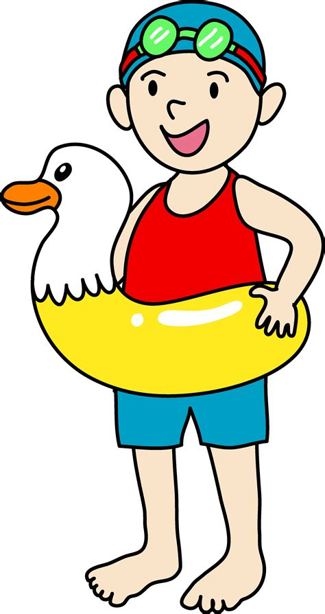 Swimming Clipart Boy Swimmer Competiive Clipart Clipart Suggest