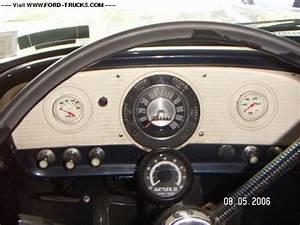 1966 Ford F100 Dash