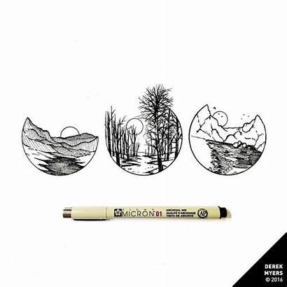 Derek Myers Daily Dose Miniature Artist Tattoo