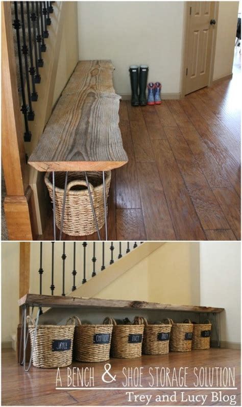 clever diy shoe storage ideas