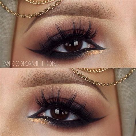 Модный макияж для карих глаз все секреты! 120 фото