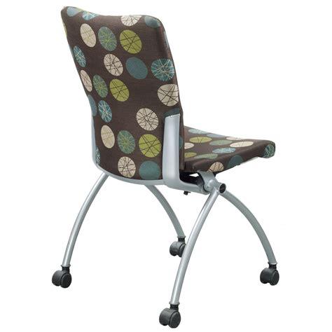 haworth x99 used seminar new nesting chair brown design