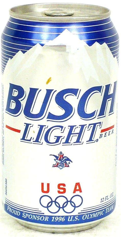 busch light new can busch beer light 355ml 1996 us olympic team united states