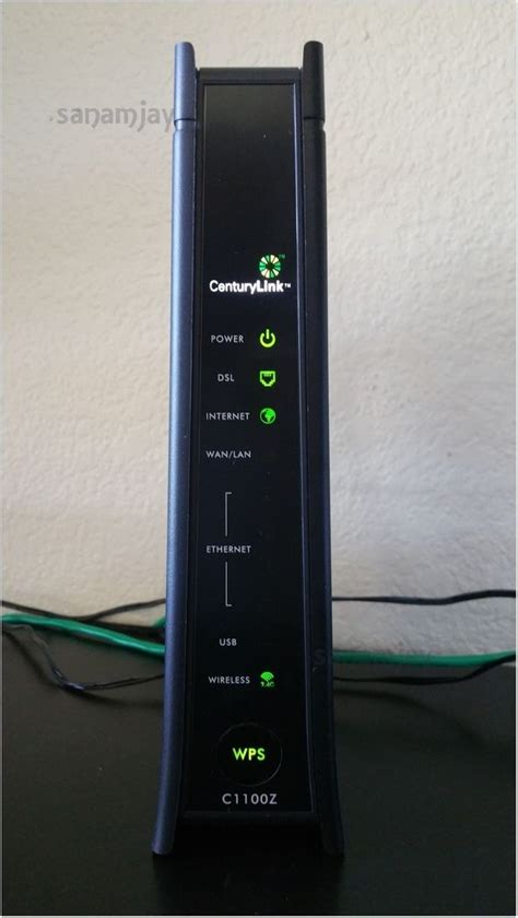 centurylink dsl light centurylink zyxel c1100z 802 11n vdsl2 wireless modem with