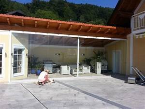 Dielenbretter Für Terrasse : glaswand f r terrasse windschutz fenster schmidinger ~ Michelbontemps.com Haus und Dekorationen