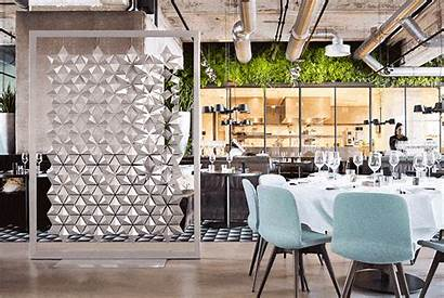 Restaurant Bar Partition Finishing Touch Freestanding Adds