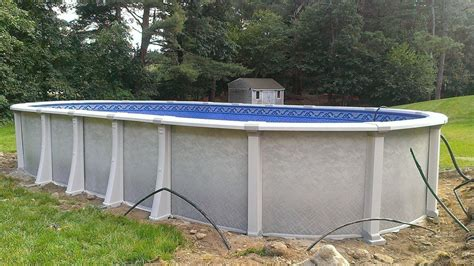 Harmony Above Ground Oval Swimming Pool Http