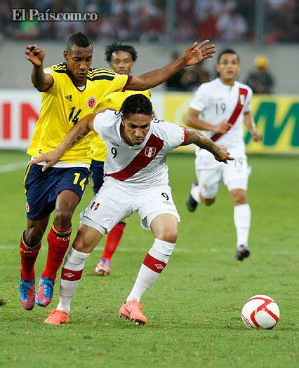 Mira el gol de peña. Perú vs. Colombia   EL PAIS