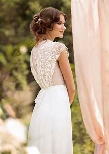 wedding dress designer wedding gown bohemian beach wedding With french lace wedding dress