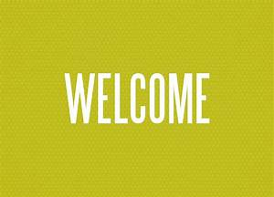 Bold Welcome - Welcome Greeting Cards by CardsDirect