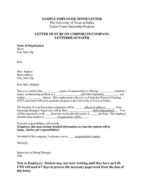 accept offer letter sample employment acceptance letter from employer cover