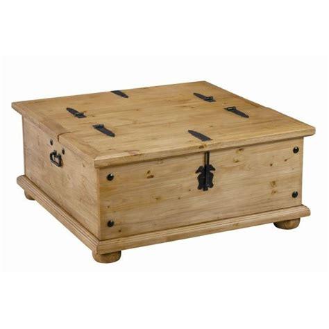 table basse coffre table basse coffre en pin ouverture achat vente