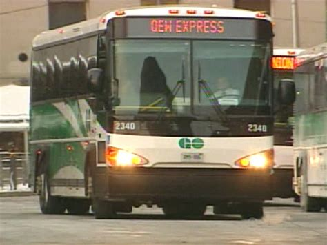 Go Transit Expands Buses To Kitchener, Mississauga Ctv