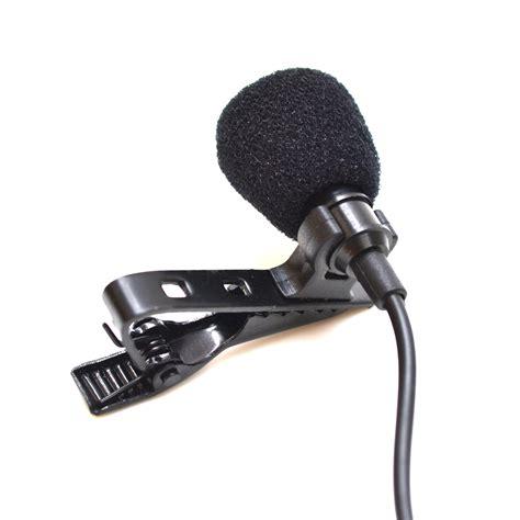 lapel lavalier microphone 1 3 5 metre 3 5mm ultradisk