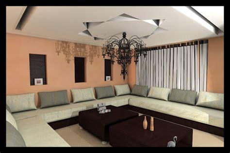 modele de cuisine marocaine en bois faux plafond salon marocain