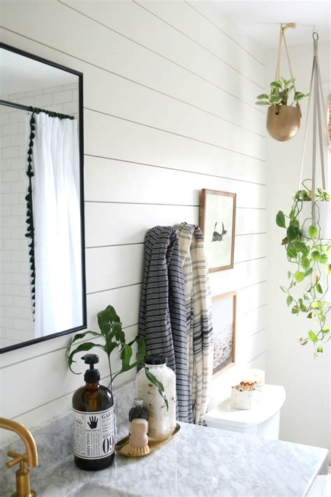 Shiplap For Bathrooms by Azek The Best Shiplap For Bathrooms Nesting With Grace