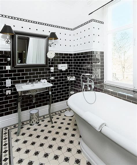 Black And White Bathroom Ideas by Black And White Bathrooms Design Ideas Decor And Accessories