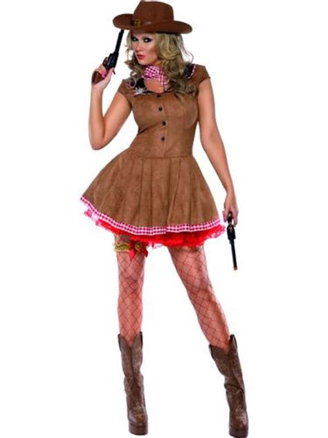 Sexy Western Cowgirl Ladies Fancy Dress Womens Cow Girl Cowboy Costume Outfit | eBay