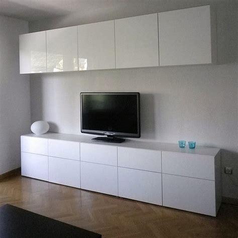 ikea bureau besta ikea besta cabinets with high gloss doors in living room