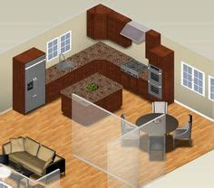 kitchen design and layout l shaped kitchen island ideas from aristokraft 4390
