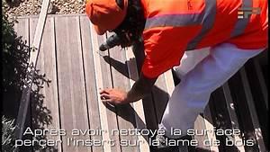 Antidérapant Escalier Bois : passage pose insert min ral antid rapant escalier bois ext rieur youtube ~ Dallasstarsshop.com Idées de Décoration